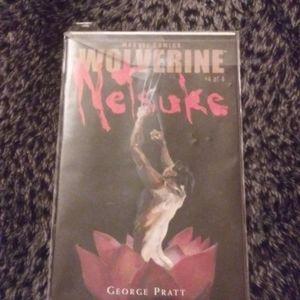 Wolverine Netsuke #4 of 4 MARVEL COMIC BOOK